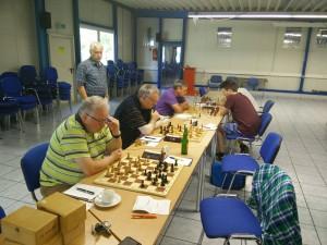 Manschaftskampf III-IV Bretter 1-4